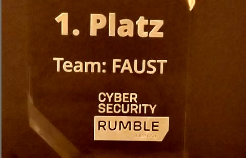 "Towards entry ""FAU Security Team (FAUST) Ranks First in Cyber Security Rumble Germany 2020"""